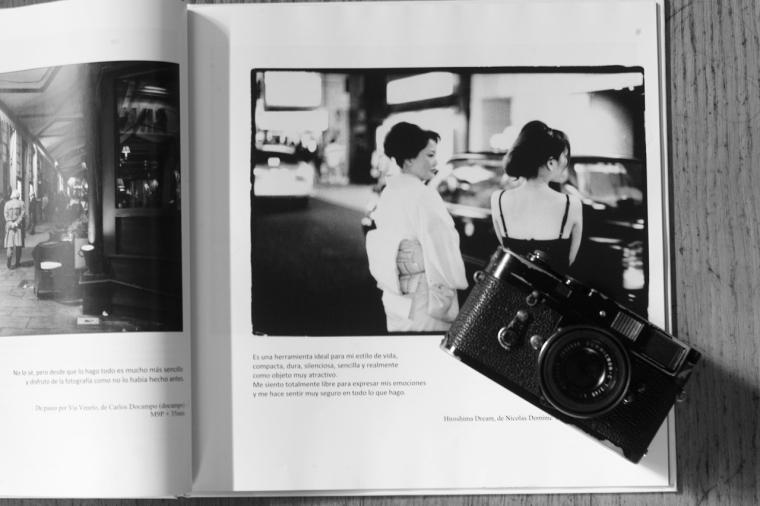 published!  en la mejor de leica español 2012 book.
